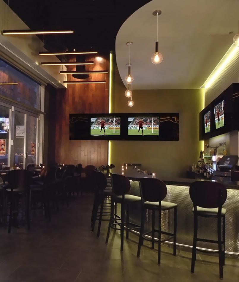 Sports Bar Concept – DESIGNBRIDGE
