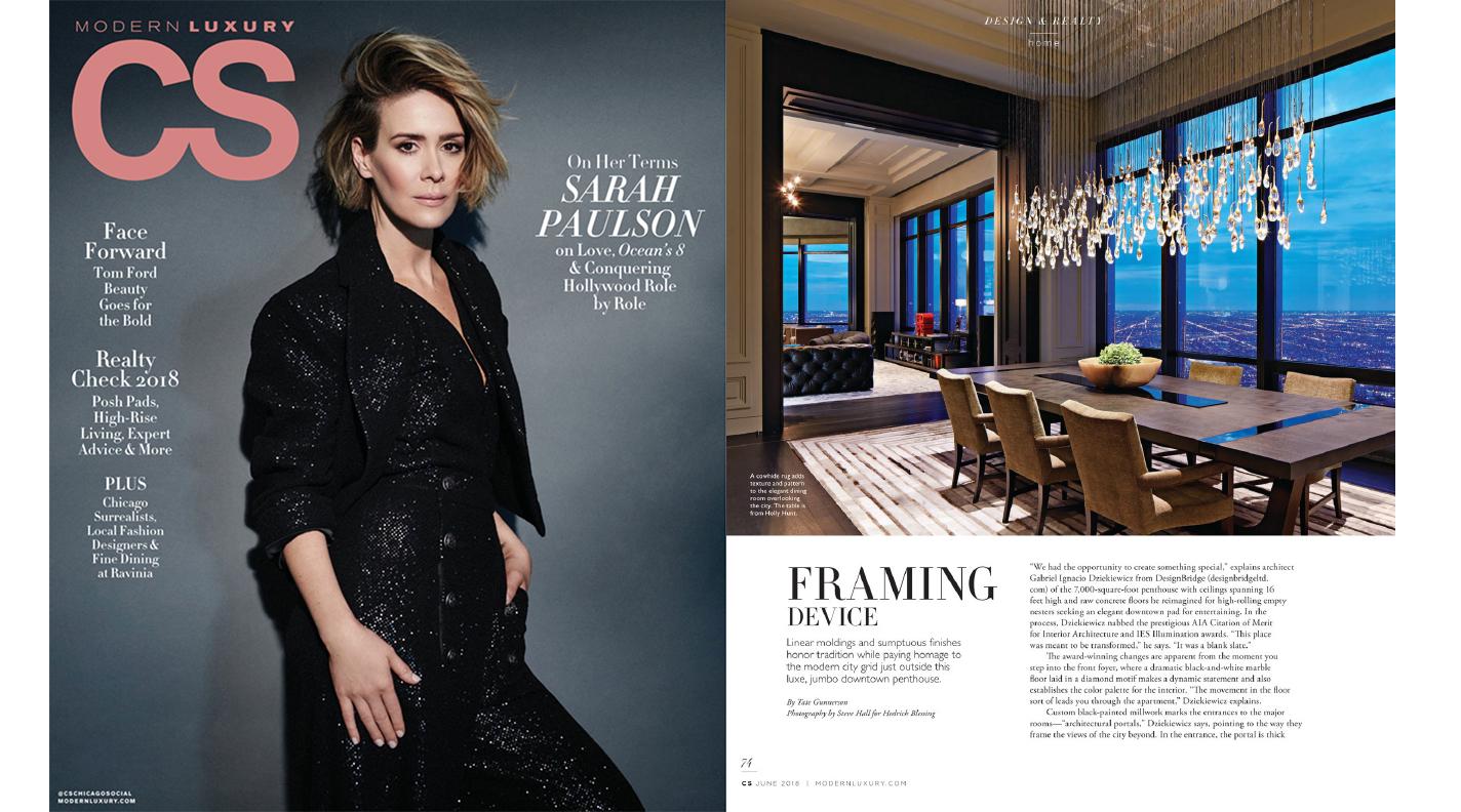 Designbridge Featured In June 2018 Issue Of Modern Luxury Cs Magazine Designbridge